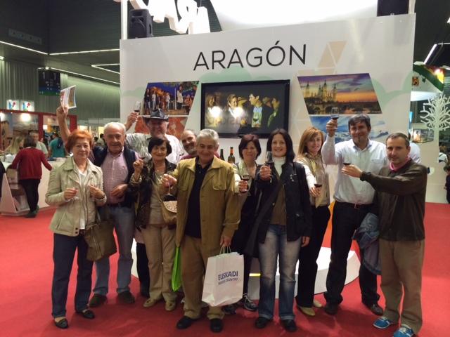 Expovacaciones Bilbao 2014 con Enoturismo de Aragón