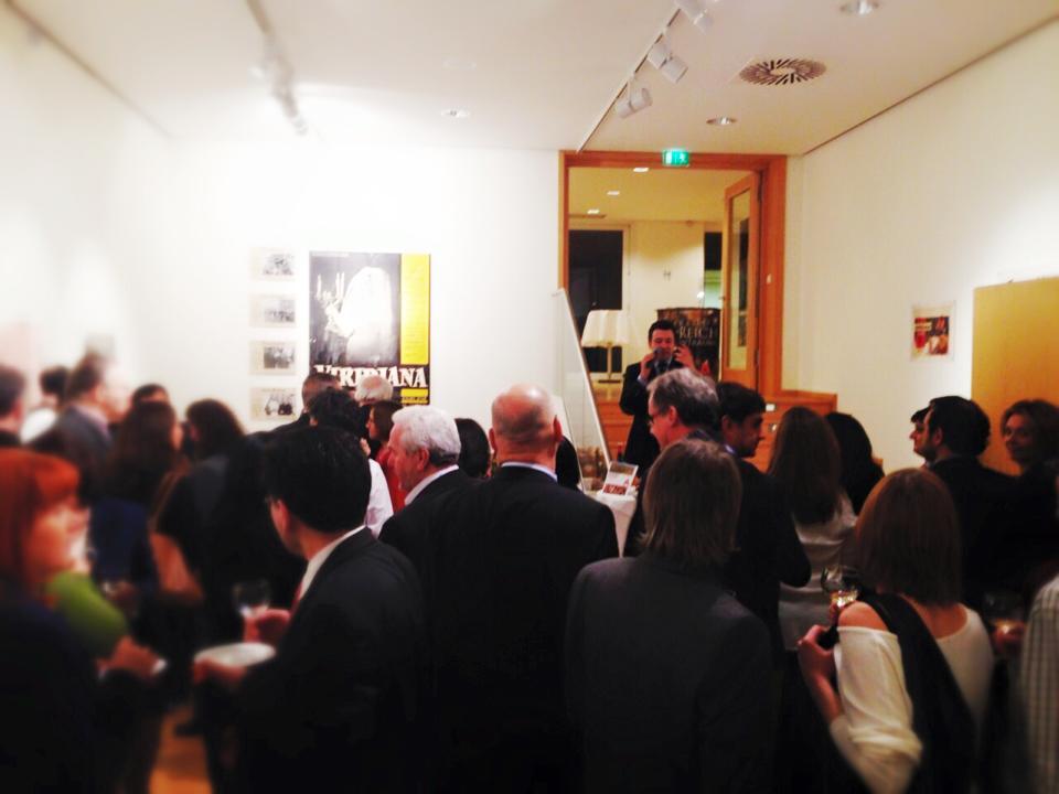 Acto de promoción en la embajada de Berlín