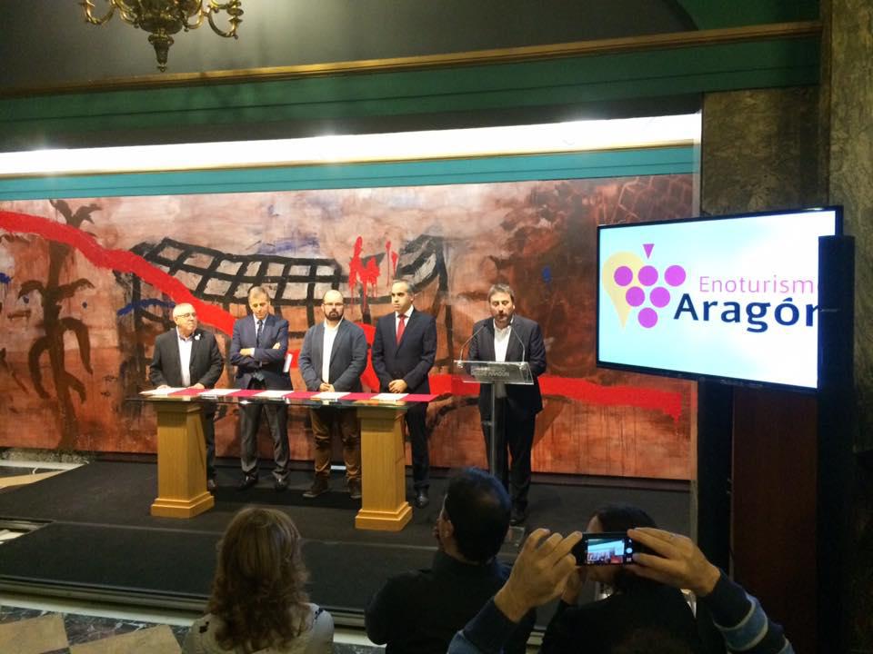 Aragón promocionará el turismo vinculado al vino en las cuatro denominaciones