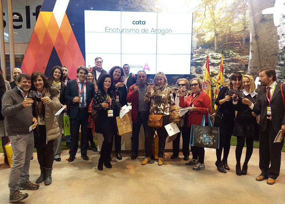 ¡Más de 5.500 personas ya han catado Enoturismo de Aragón en 2017!