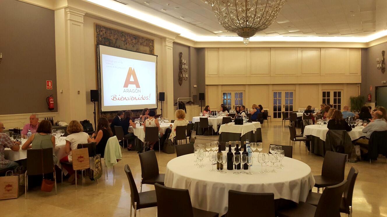 Turismo de Aragón se promociona en Sevilla, Málaga y Valencia con nuestros vinos