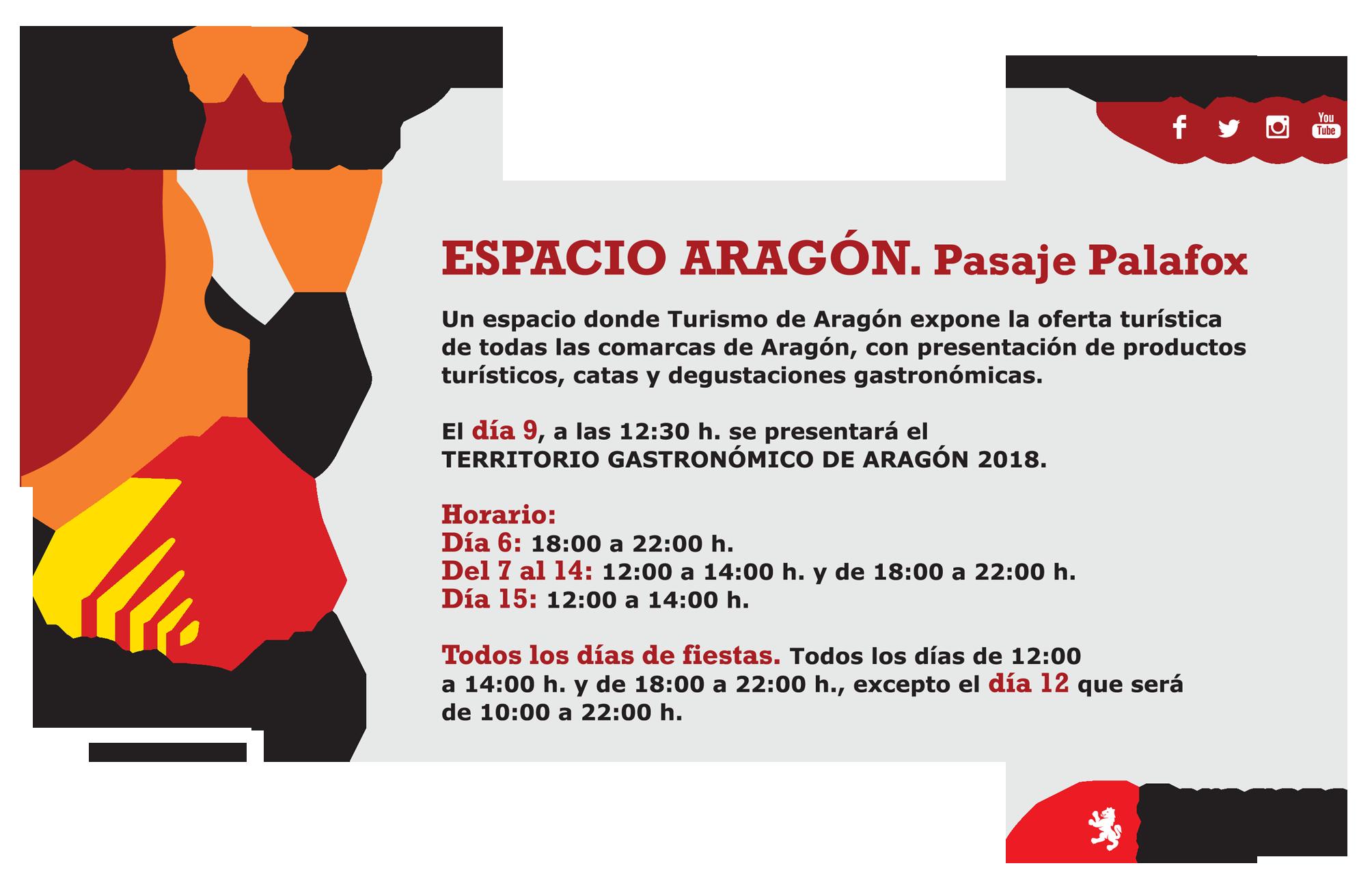 ¡Catas de Enoturismo de Aragón en las Fiestas del Pilar!