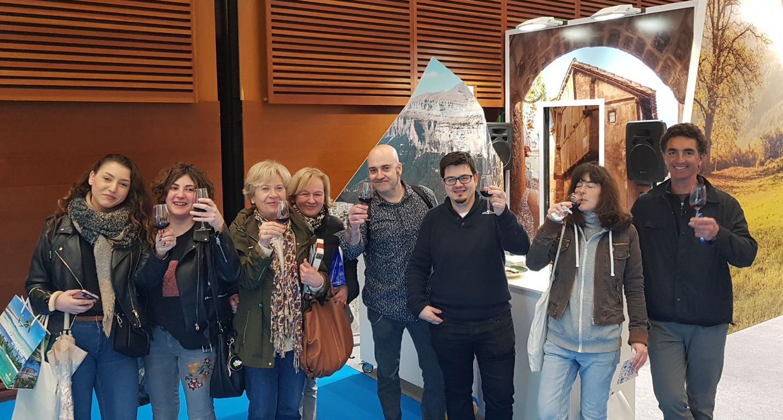 ¡450 visitantes de Sevatur 2018 saborearon Enoturismo de Aragón!