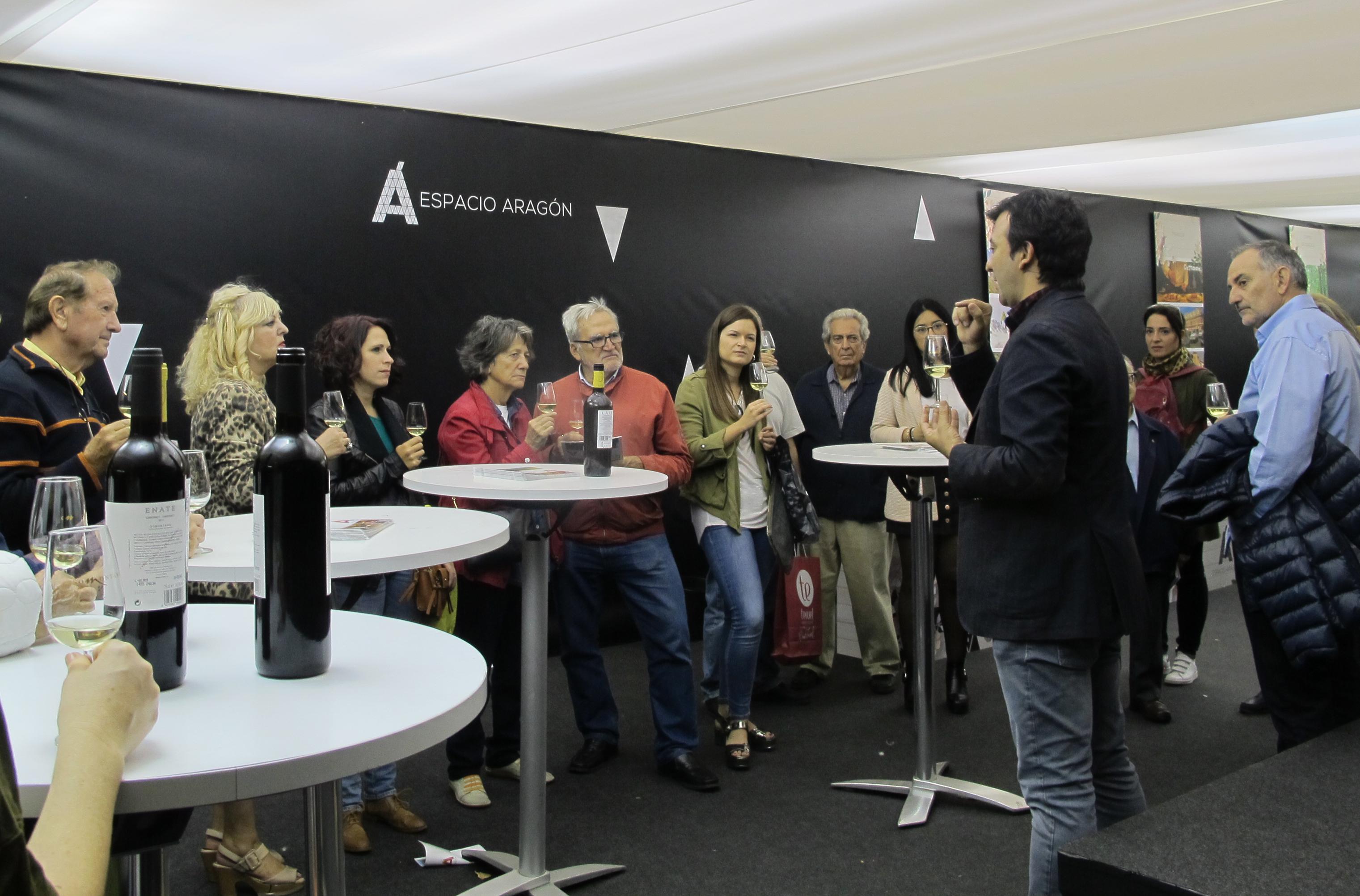 ¡Catas de Enoturismo de Aragón en las Fiestas del Pilar 2018!