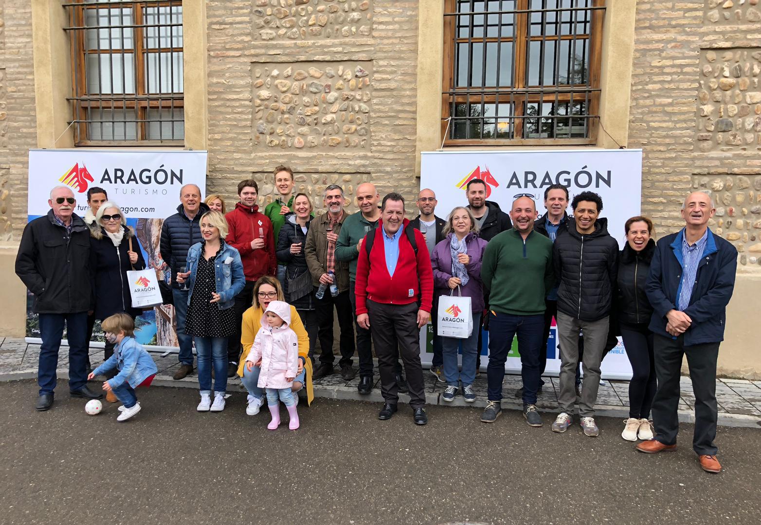 El Pignatelli brindó con Enoturismo de Aragón por el Día de San Jorge